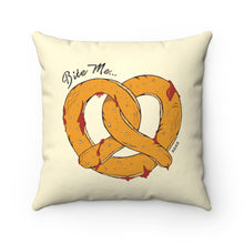 Load image into Gallery viewer, Pretzel Throw Pillow