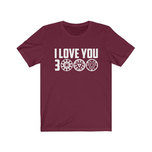 I Love You 3000 Iron Man Tee