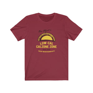 Ben Wyatt's Low-Cal Calzone Zone - Unisex Short Sleeve Tee