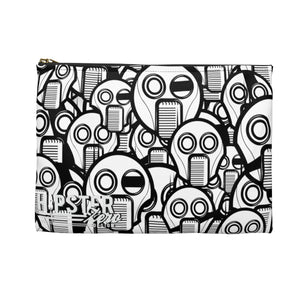Robot Faces Accessory Zipper Pouch