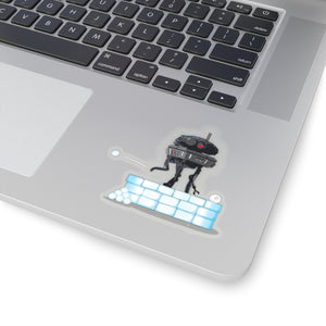 Laid Off Probe Droid Sticker