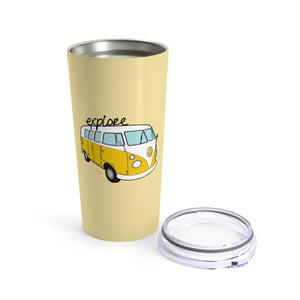 Explore Bus Tumbler 20oz