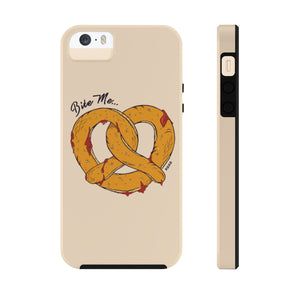 Bite Me... Pretzel Case Mate Tough Phone Cases