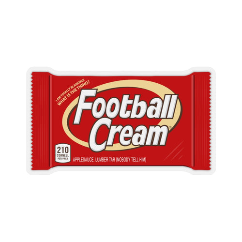 Football Cream Sticker