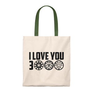 I Love You 3000 Iron Man Tote Bag