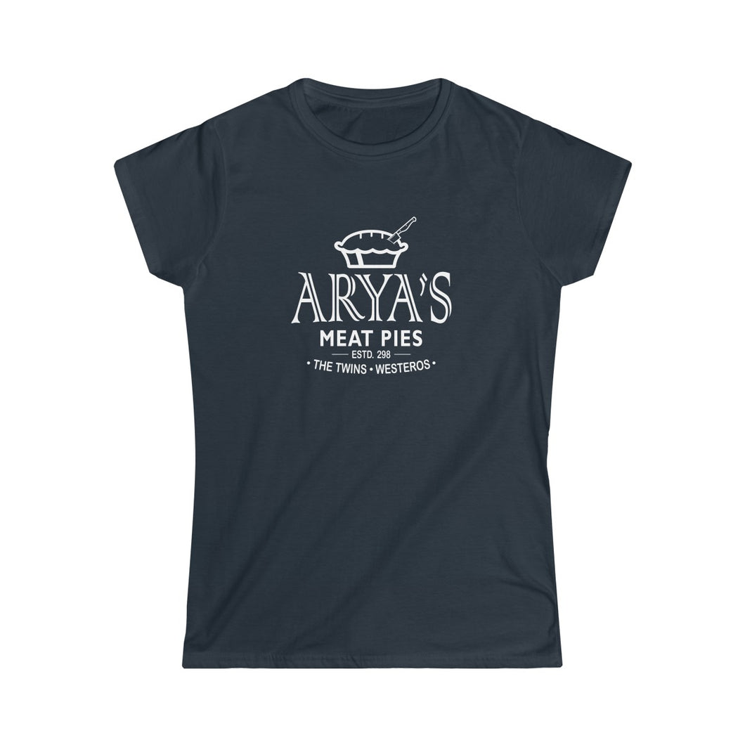 Women's Tee Arya Stark Arya's Meat Pies Game of Thrones