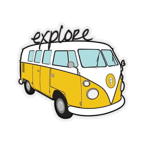Explore Bus Sticker