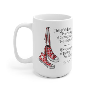 Things We Lose - Luna Lovegood Harry Potter White Ceramic 15oz Mug