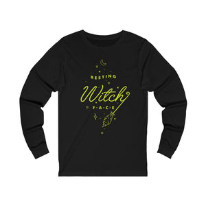 Resting Witch Face Long Sleeve Tee Shirt