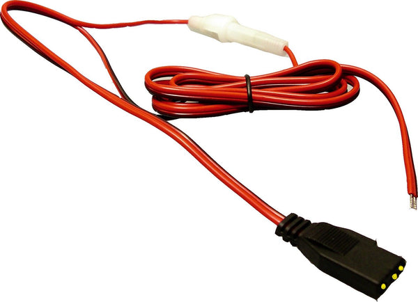 CB RADIO POWER CABLE LEAD 3 PIN PRESIDENT AUDIOLINE COBRA