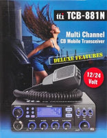 TTI TCB 881 N Multi Channel 12/24 Volt AM/FM UK/EU CB Radio