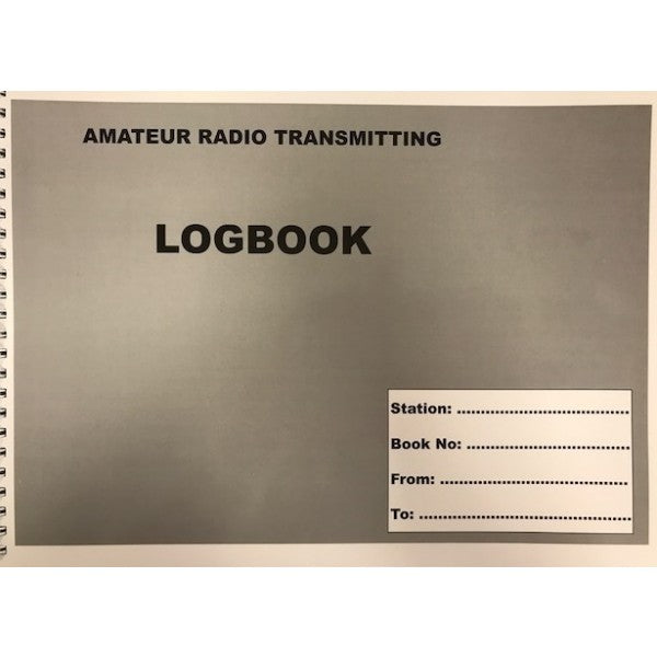 Amateur Radio Station and Short Wave Listener Log Book