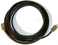 RG8X Mini8 50 Ohm Low Loss Coaxial Cable Fitted PL259 Connectors