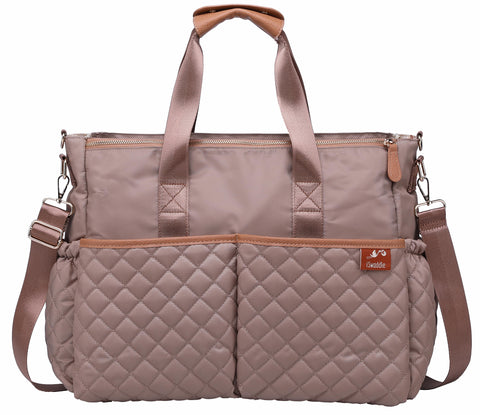 Aria Changing Bag in Cream