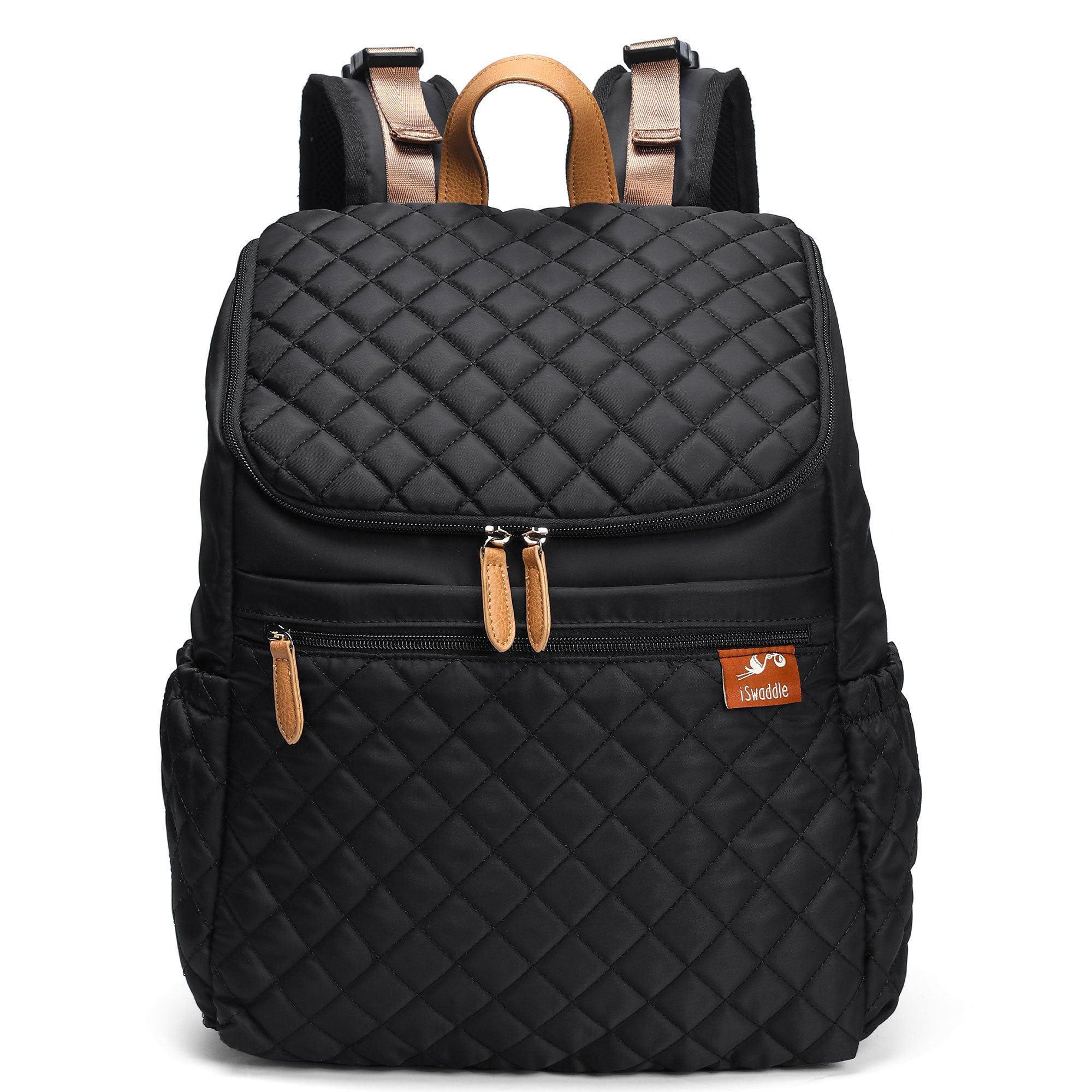 Aria Backpack Changing Bag in Black
