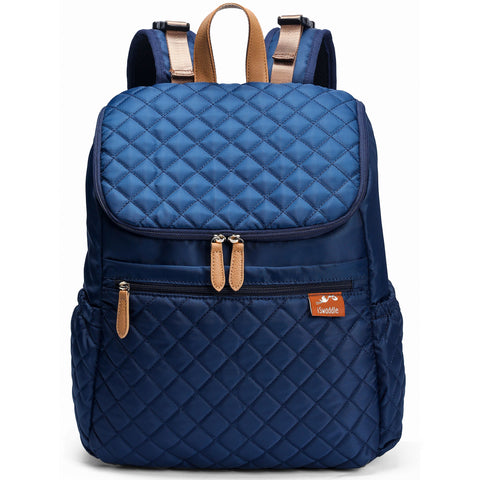 Aria Backpack Changing Bag in Navy