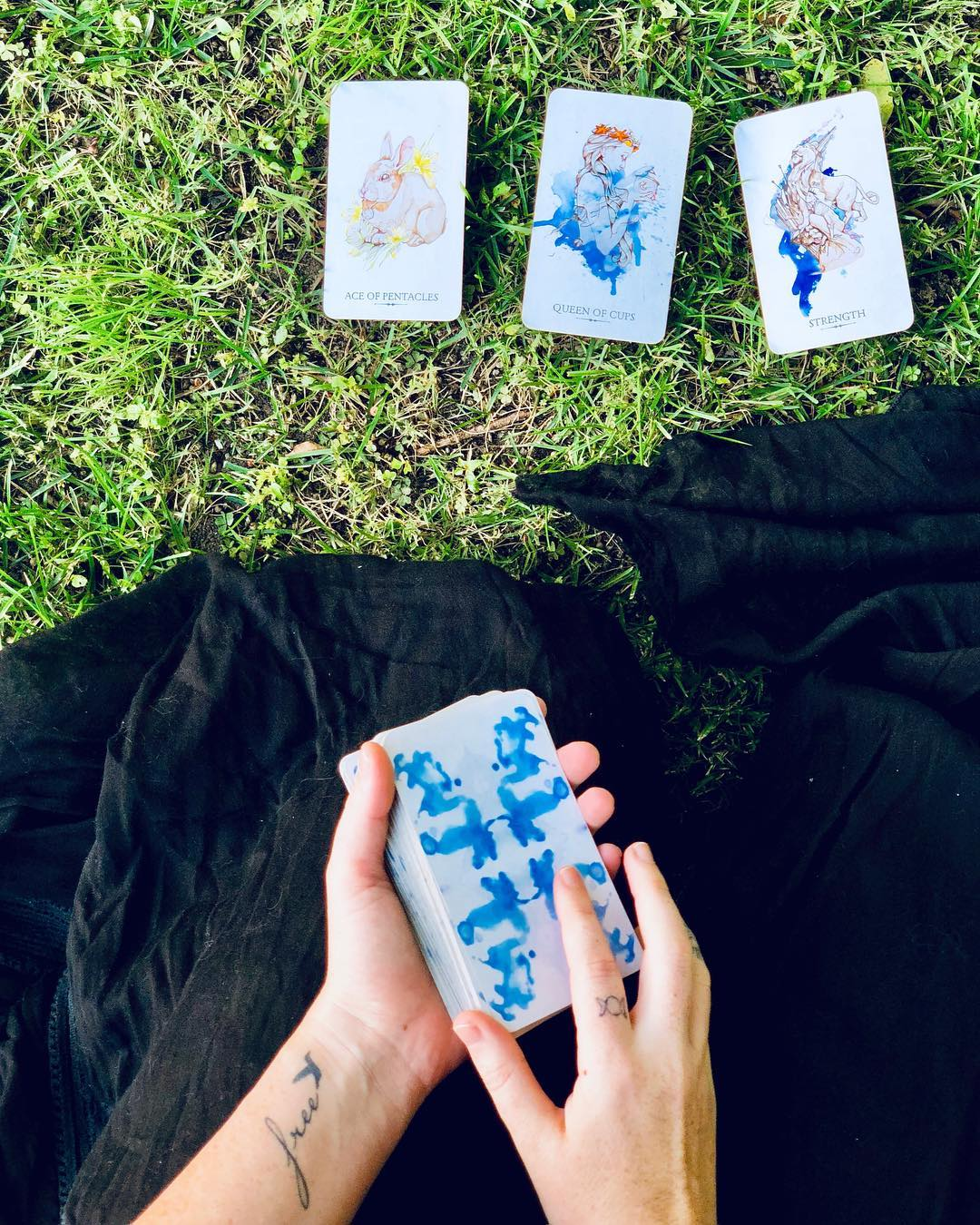 I never connected with Tarot until I found this deck.