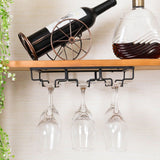 Hanging Racks Stemware Black 3