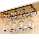 Hanging Racks Stemware Black 4