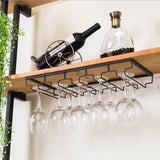 Hanging Racks Stemware Black 5