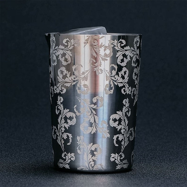 Mixing Glass Engraved 2
