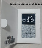 Granite Stone Ice Cubes - 6 colors