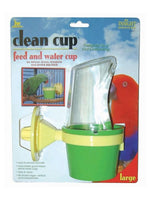 Clean Cup Feed & Water Cup