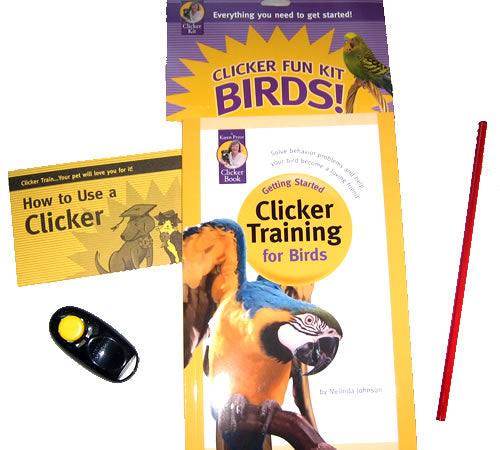 Clicker Training Fun Kit - Birds!
