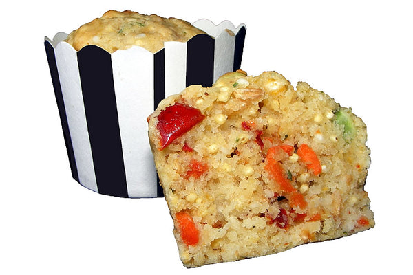 Cheesy Vegetable Muffins 200g