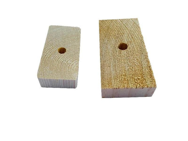 Natural Wood Pine Bricks