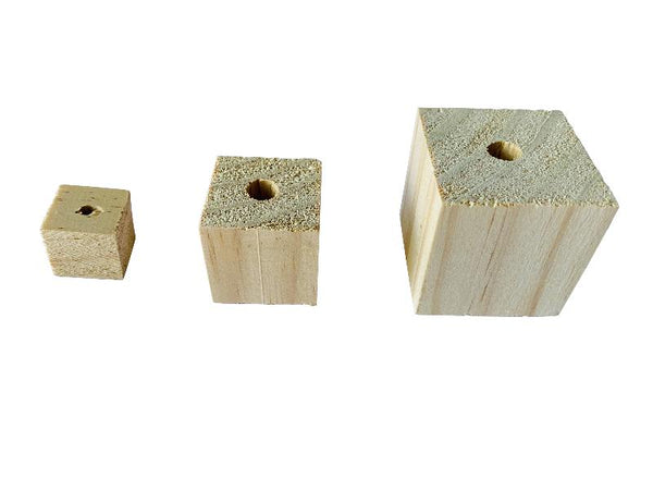 Natural Wood Pine Blocks