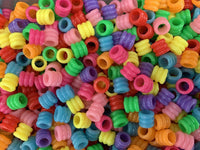 Plastic Ripple Beads