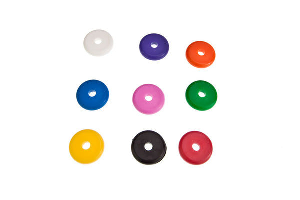 Plastic Washer Discs x 6