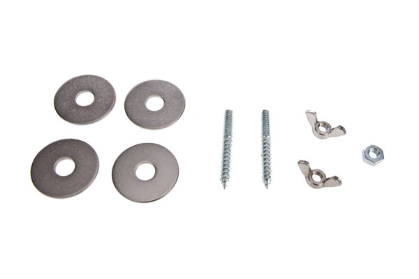 Stainless Steel Perch Adjustable Hardware Kit