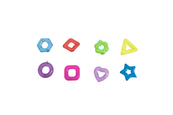 Itty Bitty Ring Shapes x 20