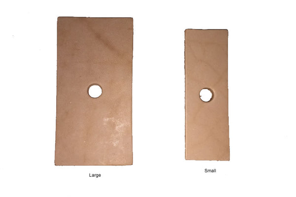 Leather Rectangle x 4