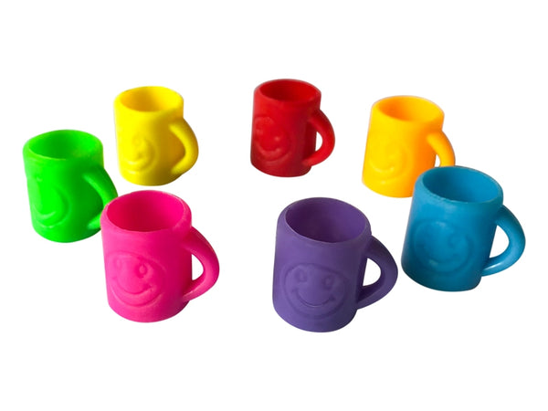 Mini Smiley Mugs x 4