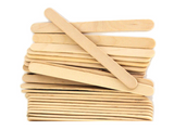 Wood Paddle Pop Sticks