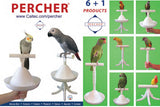 The Percher - Portable Perch and Training Tool