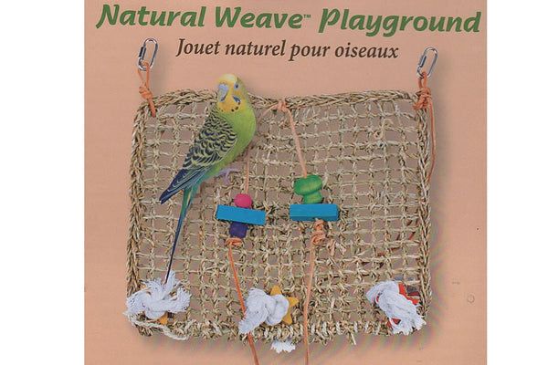 Natural Weave Playground Climbing Mat