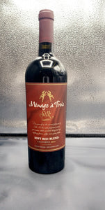 Menage a Trois Silk Soft Red Blend 750ml ( 12 Bottles )