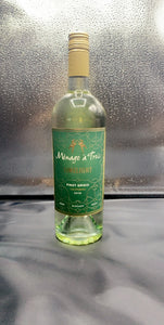 Menage a Trois Limelight Pinot Grigio 750ml ( 12 Bottles )