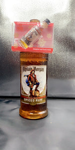 Captain Morgan Spiced Rum Half Gallon with 1 FREE Shot and 1 FREE Shot Glass