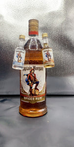 Captain Morgan Spiced Rum Half Gallon with Two FREE Shots