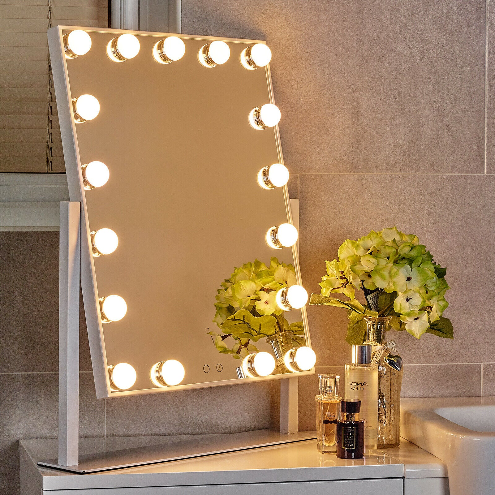 Globrite Hollywood Dressing Table Mirror - The London Outlet