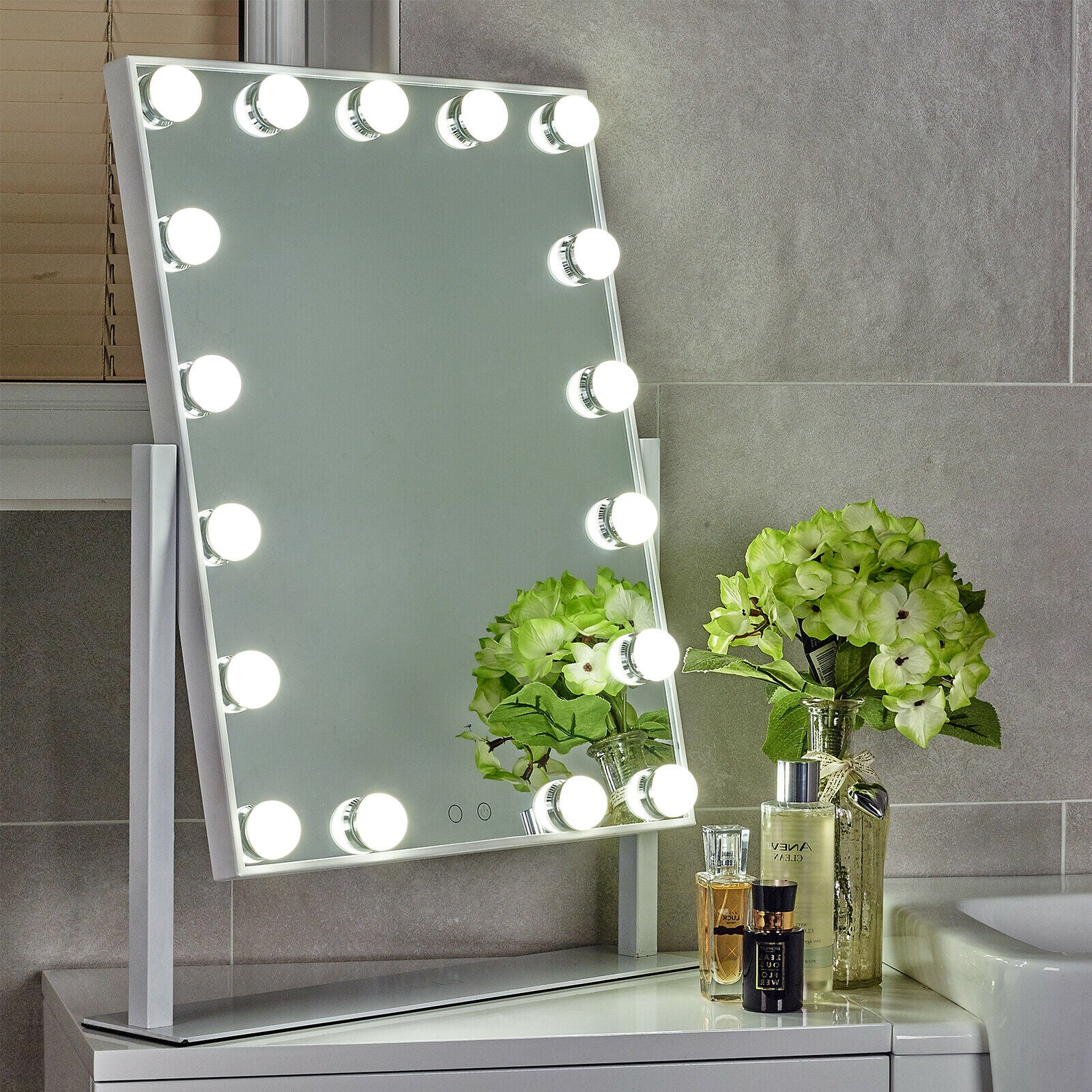 Globrite Hollywood Dressing Table Mirror The London Outlet