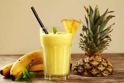 Tropical Summer Protein Smoothie