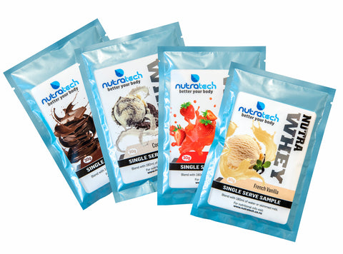Nutra Whey Protein Samples