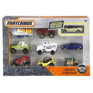 Matchbox 9 Car Gift Pack