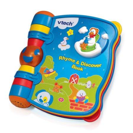 VTech Baby Rhyme and Discover Book
